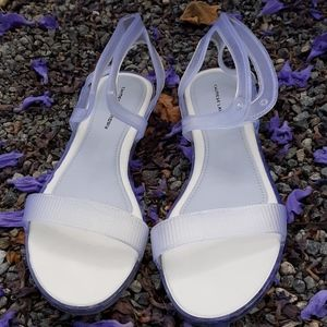 Chinese Laundry Clear Jelly Sandals Flats size 41
